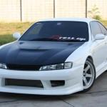 ชุดแต่งรอบคัน Nissan Silvia S14 ทรง Vertex