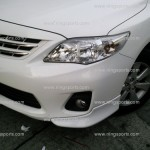 ชุดแต่งรอบคัน Toyota Altis 10 (Minorchange) ทรง V.1