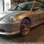 ชุดแต่งรอบคัน Honda Civic 2001 Dimension ทรงศูนย์ ผสม 2004