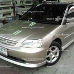  Honda Civic 2001 Dimension   2004