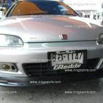 ลิ้นหน้า Honda Civic 92 EG 3D ทรง Mugen2