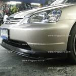 ลิ้นหน้า Honda Civic 2001 Dimension ทรง Mugen2