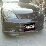  Honda Civic 2004 Dimension  SIR2