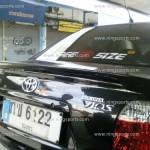 สปอยเลอร์ Toyota Vios ทรงแนบ Ducktail