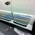 ครอบบันไดข้าง Mitsubishi Pajero Sport ทรง Extremer