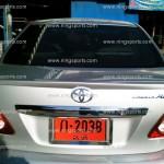 สปอยเลอร์ Toyota New Altis 08 ทรงแนบ (แบบศูนย์)