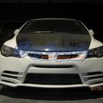 กันชนหน้า Honda Civic FD ทรง M&M