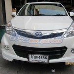 ชุดแต่งรอบคัน Toyota Avanza 2012 สำหรับรถตัว Top ทรง OEM