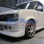ชุดแต่งรอบคัน Nissan Cube Z11 ทรง K-Factory