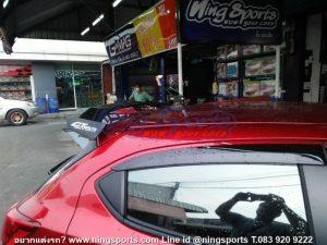GT Wing ทรง GT Speed ตรงรุ่น Mazda2 Skyactiv 5D