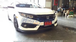 ลิ้นหน้า Honda Civic FC ทรง N Speed