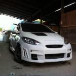 กันชนหน้า Mazda2 ทรง Bahamas