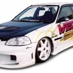 ชุดแต่งรอบคัน Honda Civic EK 96 ทรง Weber