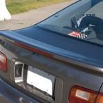 สปอยเลอร์ Honda Civic EG 4D ทรงแนบ