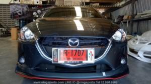 ชุดแต่งรอบคัน Mazda2 Skyactiv 4D-5D ทรง Drive68