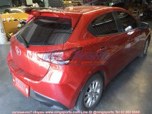 สปอยเลอร์ Mazda2 5D Skyactiv ทรง Drive68