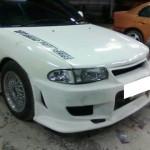 กันชนหน้า Mitsubishi Lancer E-CAR ทรง C-WEST