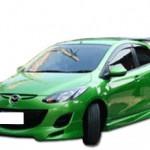 ชุดแต่งรอบคัน Mazda2 ทรง Shark Speed