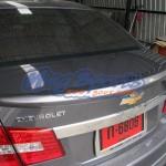 สปอยเลอร์ Chevrolet Cruze ทรงแนบ Ducktail