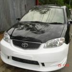 กันชนหน้า Toyota Vios ทรง Bomex