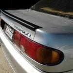 สปอยเลอร์ Mitsubishi E-CAR ทรงแนบ Ducktail