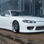 ชุดแต่งรอบคัน Nissan Silvia S15 ทรง Vertex