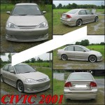  Honda Civic 2001 Dimension  VIP