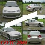 ชุดแต่งรอบคัน Honda Civic 2001 Dimension ทรง VIP