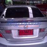 สปอยเลอร์ Honda Civic FB ทรง Modulo แบบยกสูง