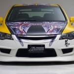 ลิ้นหน้า Honda Civic FD ทรง J'S Racing Type-X