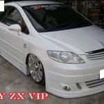 ชุดแต่งรอบคัน Honda City ZX ทรง VIP