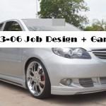 ชุดแต่งรอบคัน Toyota Vios ทรง Job Design ผสม Gamu-R