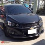ชุดแต่งรอบคัน Chevrolet Sonic 4D ทรง K-Style