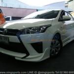 ชุดแต่งรอบคัน Toyota Yaris 2014 ทรง Dream Speed