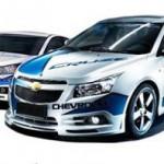 ชุดแต่งรอบคัน Chevrolet Cruze ทรง WTCC