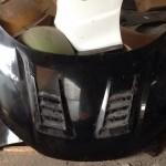ฝากระโปรงคาร์บอนเคฟลาร์ Honda City 2014 ทรง V.2