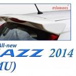 สปอยเลอร์ Honda Jazz GK 2014 ทรง MG