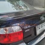 สปอยเลอร์ Toyota Vios ทรงแนบ Ducktail V2 แบบมีไฟ