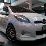 ชุดแต่งรอบคัน Toyota Yaris 2012 ทรง V.1 ผสม NTS1