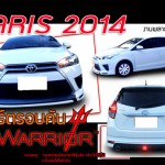 ชุดแต่งรอบคัน Toyota Yaris 2014 ทรง Warrior