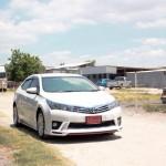 ชุดแต่งรอบคัน Toyota Altis 2014 ทรง Kantara-R
