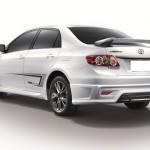 สปอยเลอร์ Toyota New Altis 08-10 ทรง TRDD3