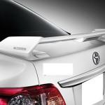 สปอยเลอร์ Toyota New Altis 08-10 ทรง TRDD2
