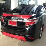 สปอยเลอร์ Toyota New Vios 2013 ทรงแนบ Ducktail V.2