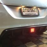 ลิ้นเสริมกันชนหลัง Suzuki Swift Eco ทรง Sport