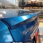 สปอยเลอร์ Mitsubishi Attrage ทรงแนบ Ducktail มีไฟเบรก