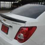 สปอยเลอร์ Chevrolet Sonic 4D ทรงแนบ Ducktail