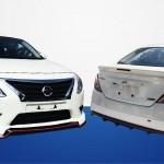 ชุดแต่งรอบคัน Nissan Almera 2014 ทรง Nismo Style