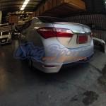 สปอยเลอร์ Toyota Altis 2014 ทรงแนบ