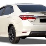สปอยเลอร์ Toyota Altis 2014 ทรงแนบ มีไฟเบรก